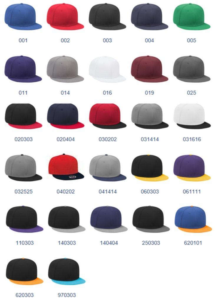 custom printed hats